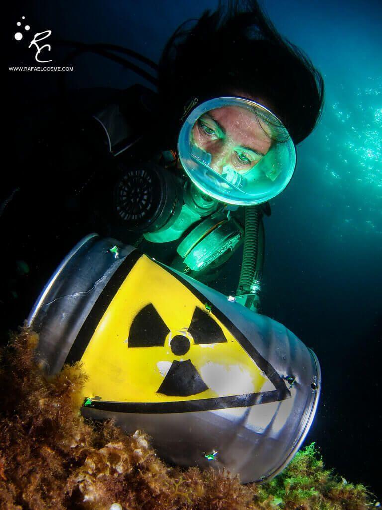 Charlas submarinas #01. Rafa Cosme, fotosub especialista en cámaras compactas. Atomic slash.