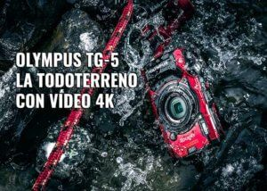 Cámara-acuática-Olympus-TG-5-video-4k-