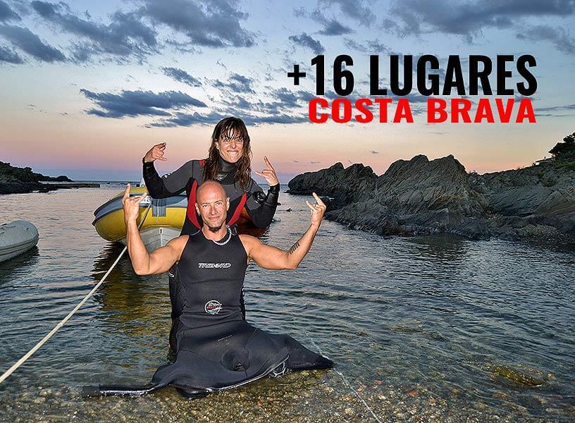 16 lugares de buceo y vacaciones en la Costa Brava