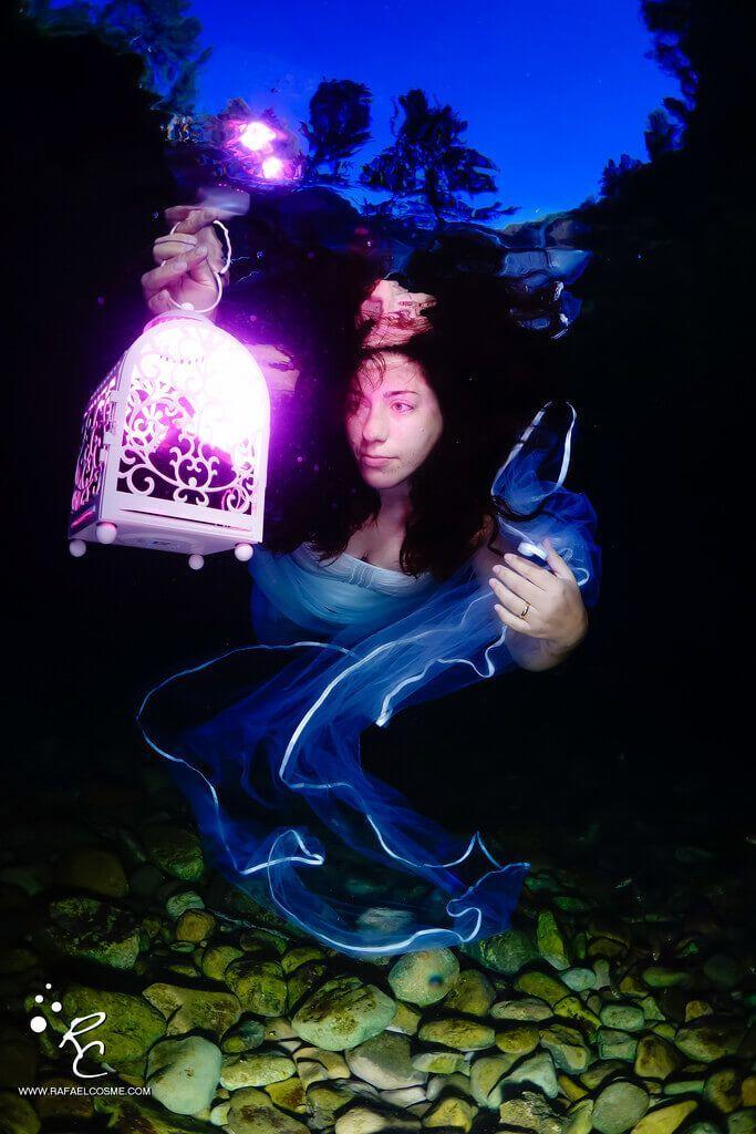 Charlas submarinas #01. Rafa Cosme, fotosub especialista en cámaras compactas. Belle.