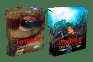 Aprende fotosub y videosub con Viajar Buceando