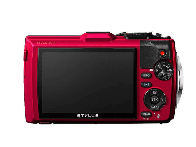 Olympus Tg4, La cámara acuática definitiva