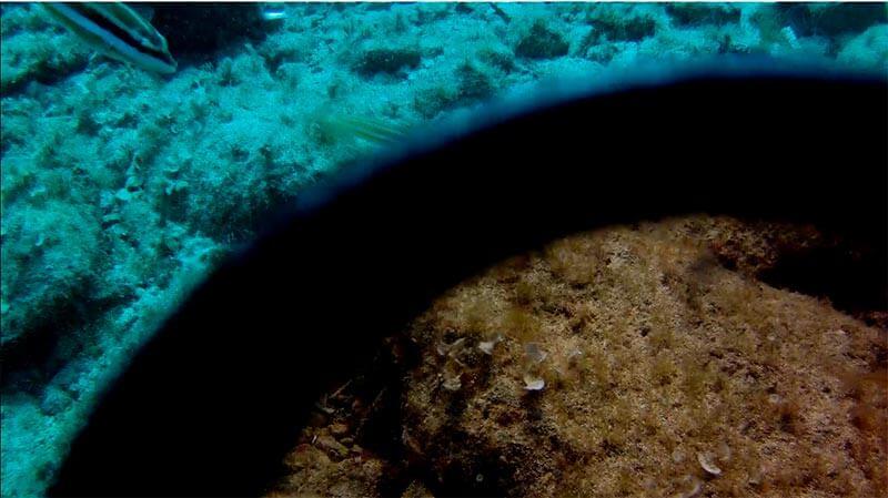 filtro rojo para Intova, vídeo y fotografia submarina.