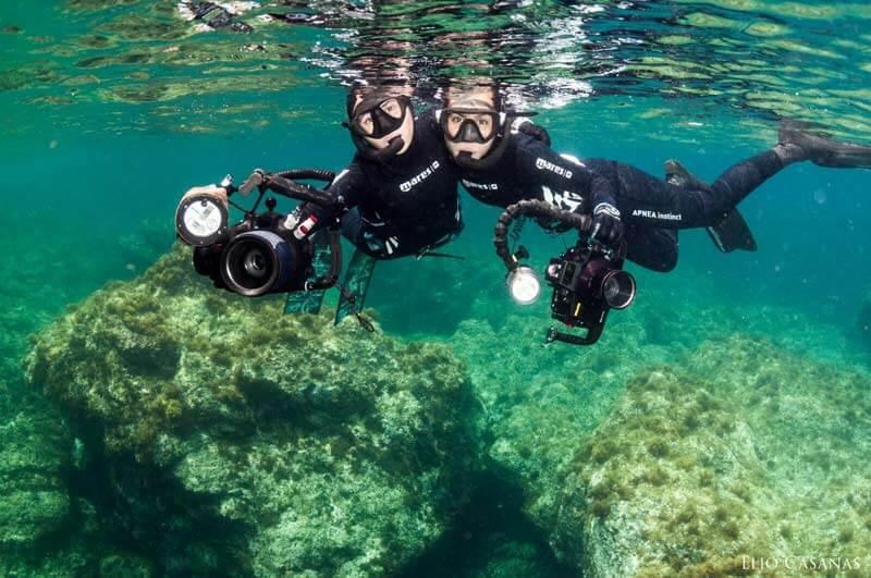 charlas submarinas irene mestre cramp fotografia submarina apnea caza fotosub
