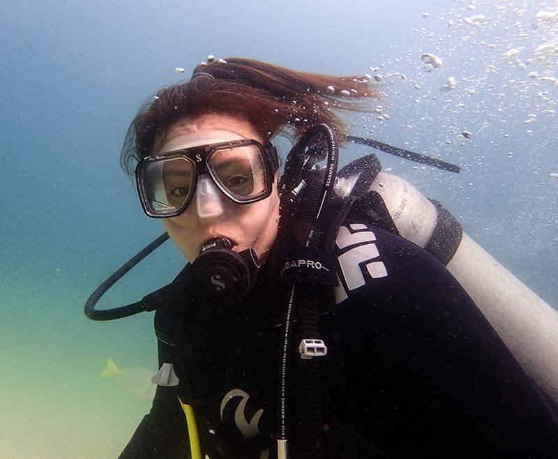 1 fotografia submarina retrato plano medio