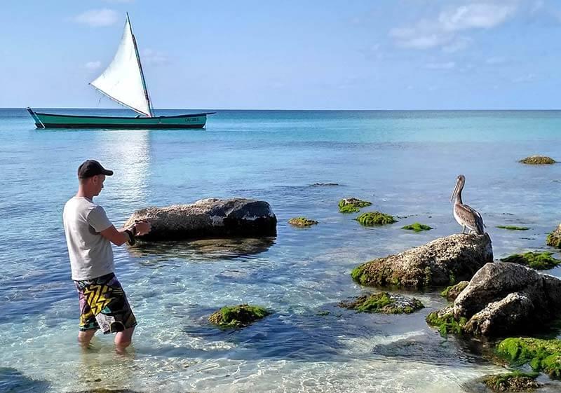 primera-inmersion-de-buceo-barco-little-corn-y-pelicano-CARLES