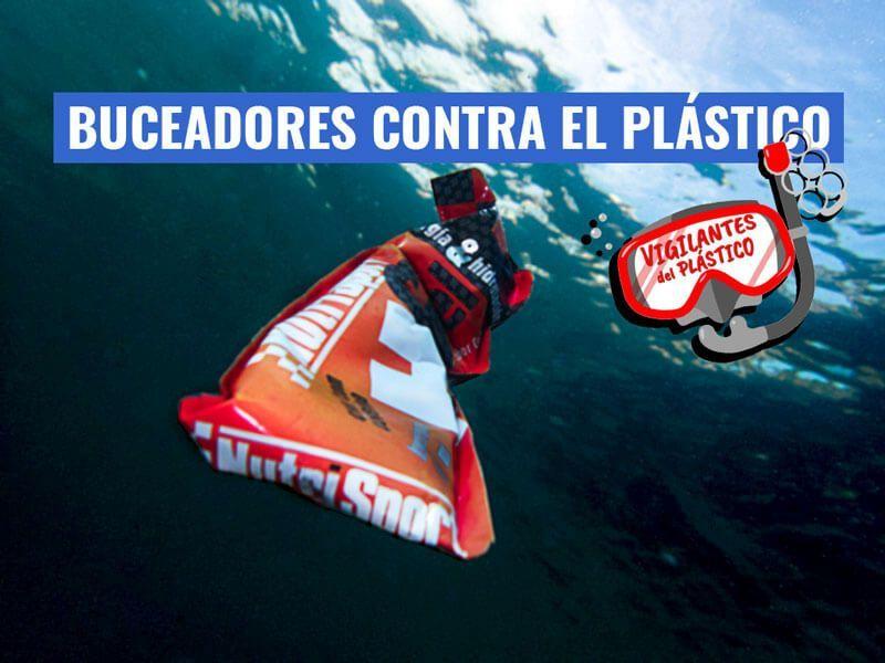 buceadores plastico adena