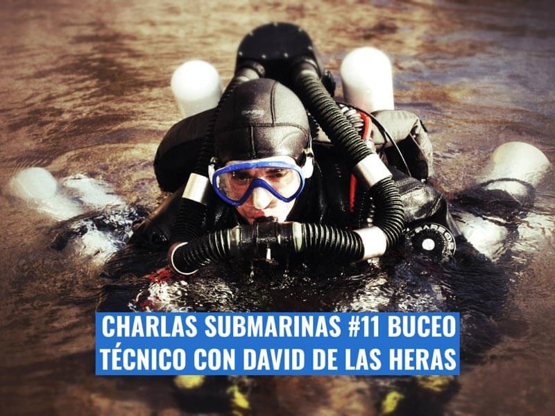 Charlas submarinas buceo tecnico David de las Heras