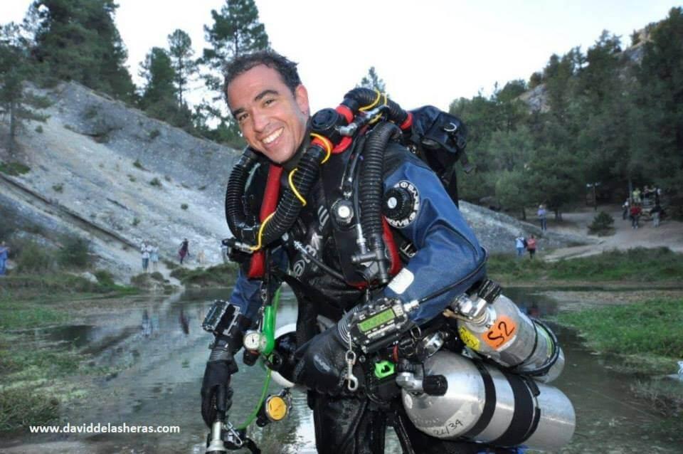 charlas submarinas buceo tecnico David de las Heras Fuentona muriel