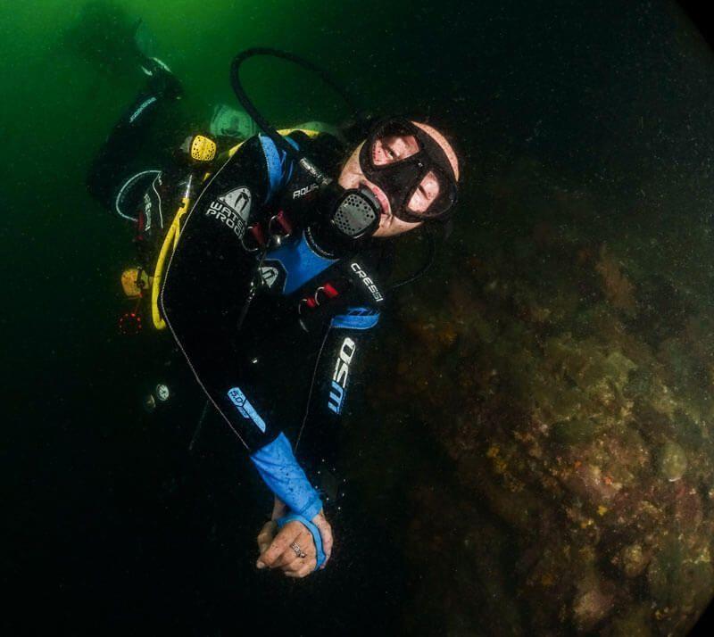 iluminacion en fotografia submarina luz artificial
