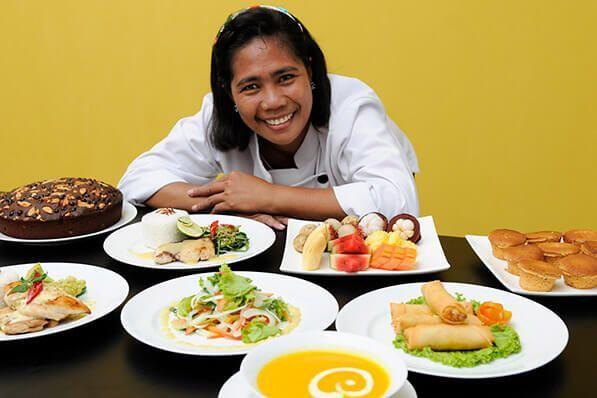 viaje de buceo lembeh y bunaken_resort cocina indonesia