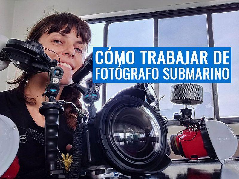 Trabajar como fotografo submarino articulo