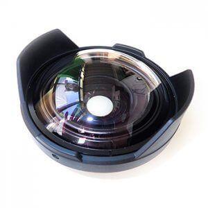 Cúpula y lente foto gran angular Inon UWL-H100 28M67
