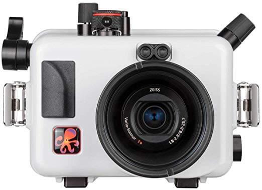 Sony RX100 V carcasa para fotografia submarina