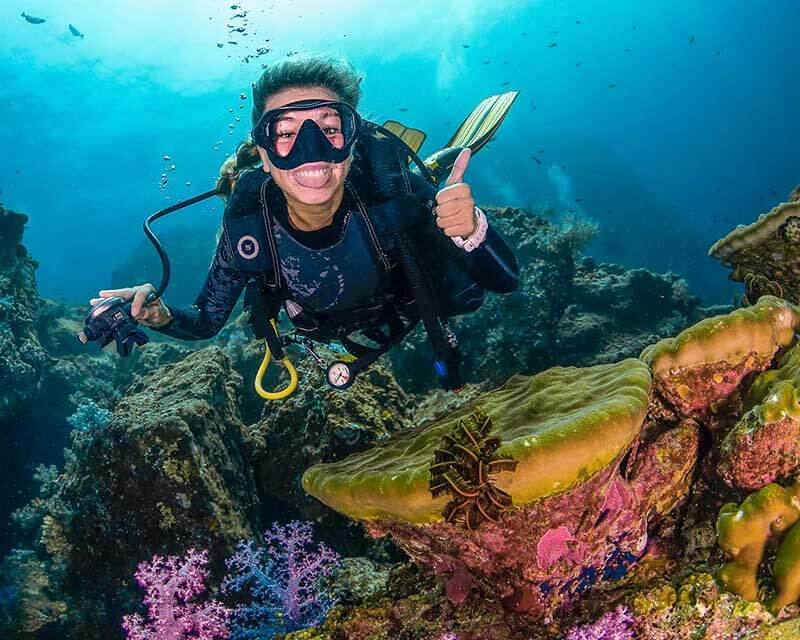 El buceo en Koh Lanta - fondos submarinos