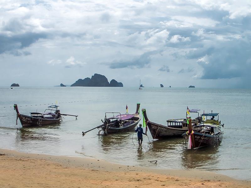 El buceo en Koh Lanta - playa de Ao Nang en Krabi