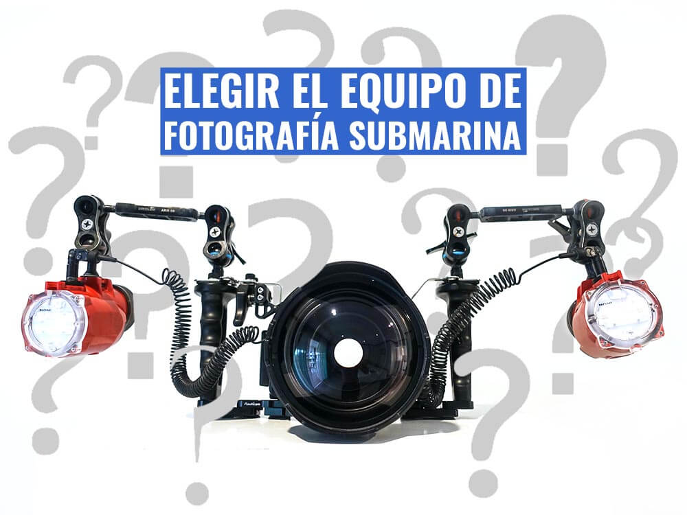 Cómo elegir el equipo de fotografía submarina