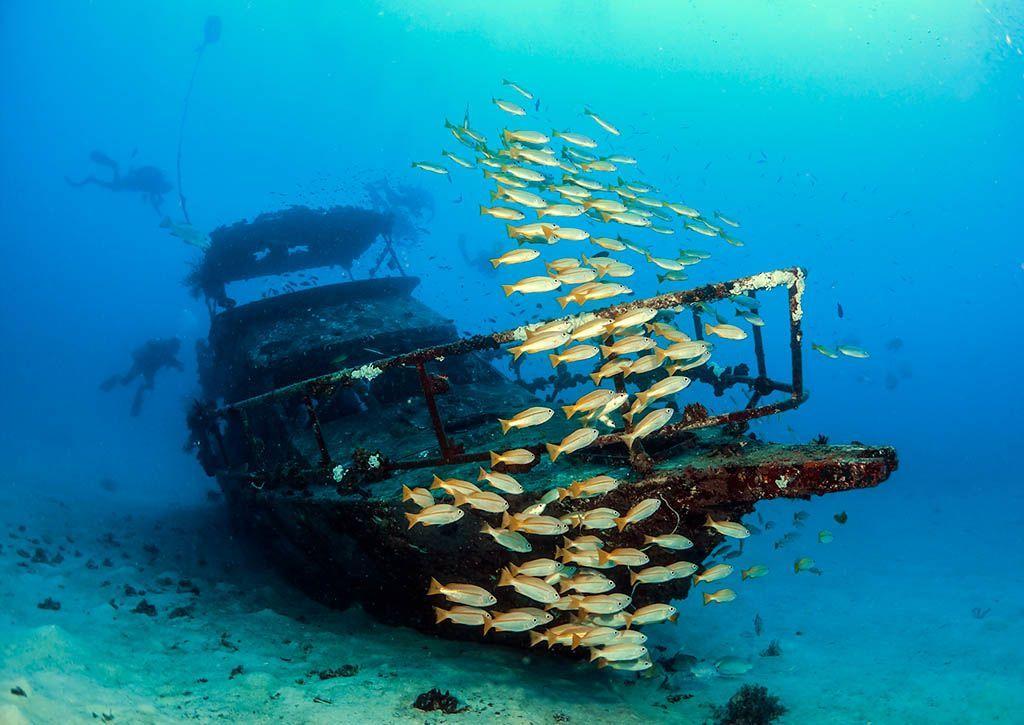 buceo en barcos con nitrox