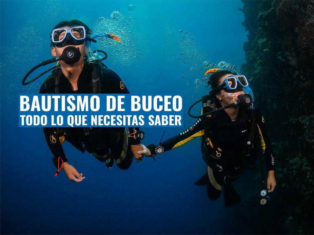 todo lo que necesitas saber sobre el bautizo de buceo - megaguia