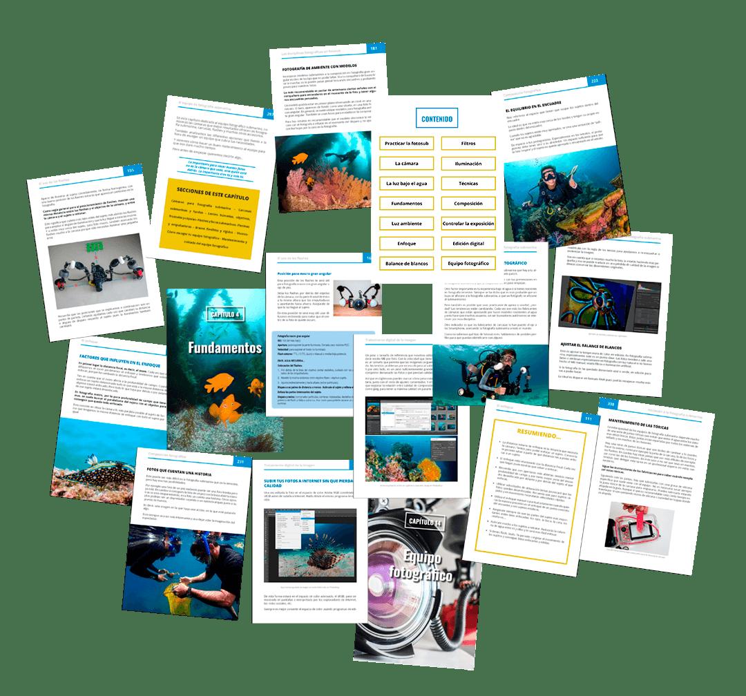 libro digital curso de fotografia submarina 5.0