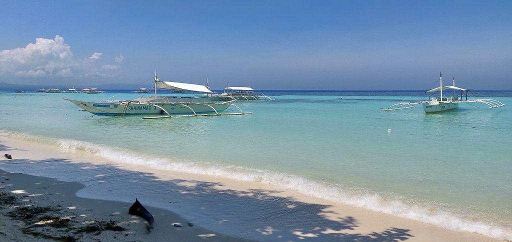 Barcas para bucear en Bohol