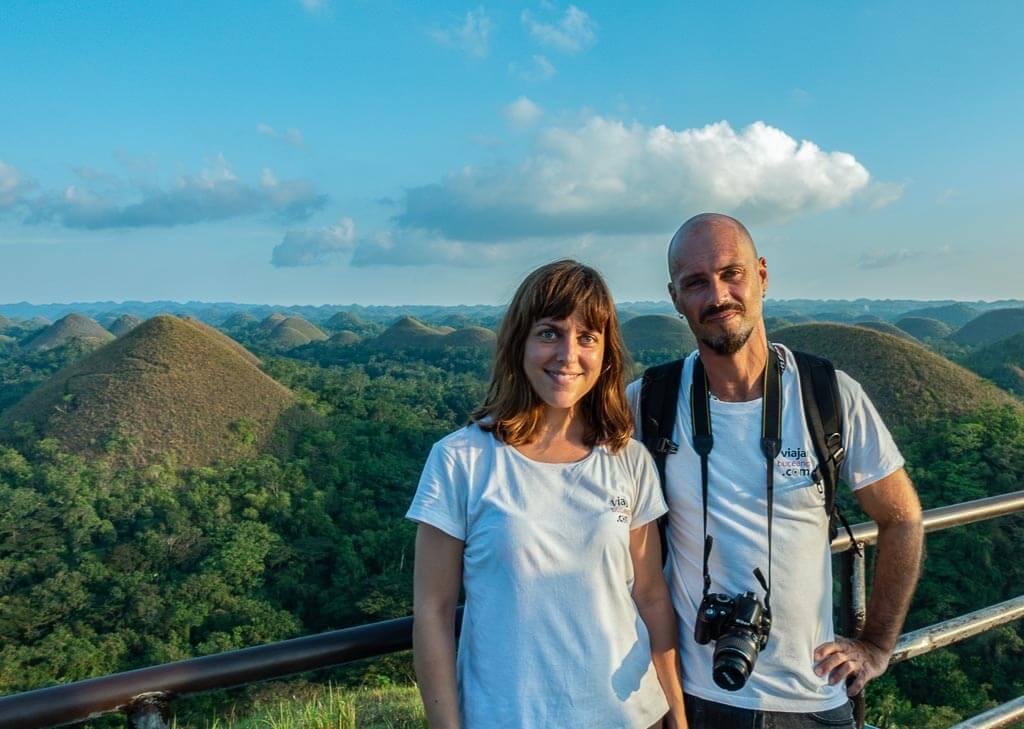 Efra y Annabel en Bohol