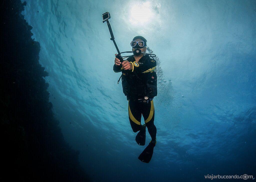 omo aprender a grabar vídeo submarino
