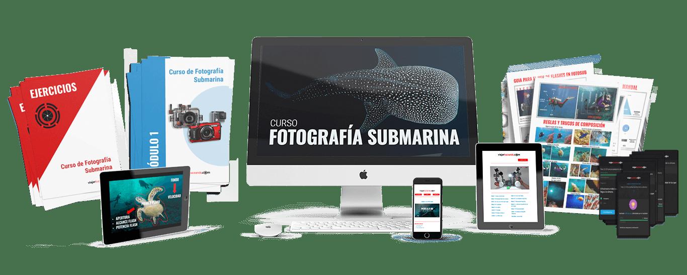 curso fotografia submarina y bonus 1