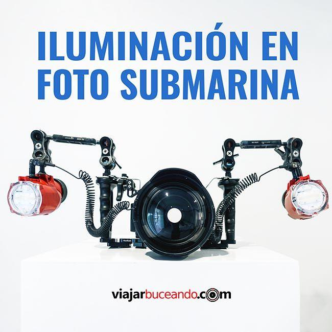 guia gratuita iluminación imagen submarina