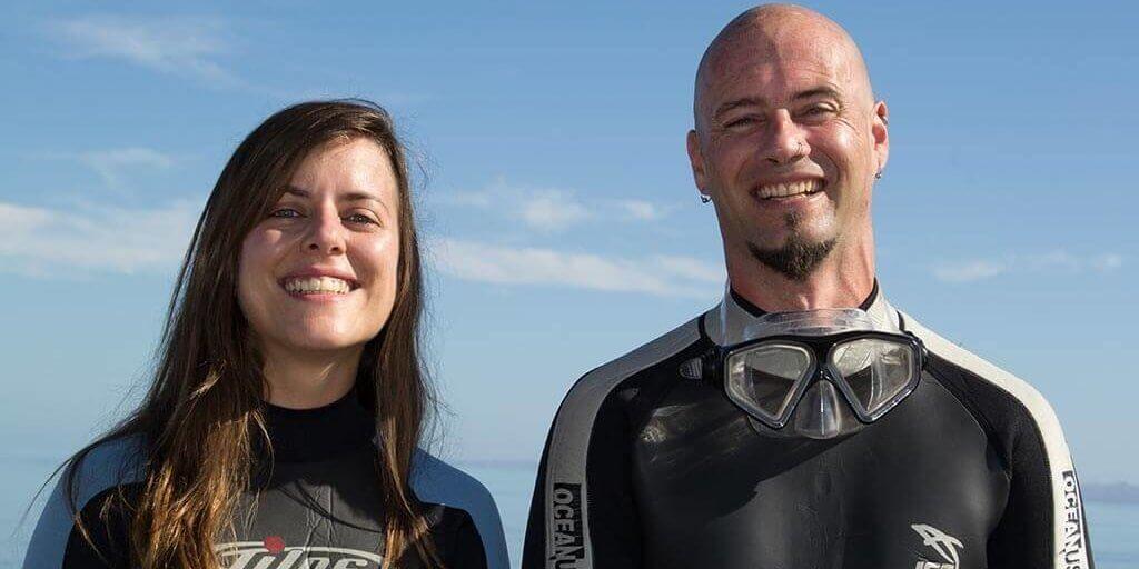 Efra y Annabel, Viajarbuceando vídeo y fotografía submarina